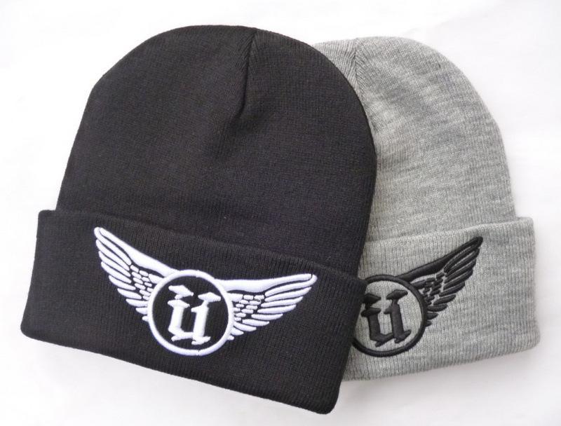 Popular Beanie Hat Cap Women Beanies for Men UNKUTT Hip-hop Letter Hats for Women Knitting Wool Winter Hat Free Shipping MZ0540(China (Mainland))