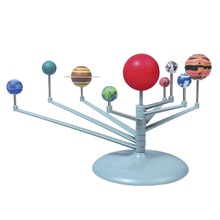 Nine Planet Solar System DIY Painting Toy Science Education Instruction Media(China (Mainland))