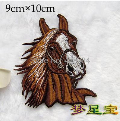 ~1 Embroidered horse Iron Sew Patch Applique Badge - Mackie Wong's store