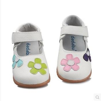 Free shipping 2016 baby leather shoes toddlers sneakers baby girls shoes children leather shoes for kids girls