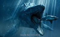"044 Jurassic World - Chris Pratt Dinosaur Moster Movie 38""x24"" Poster"