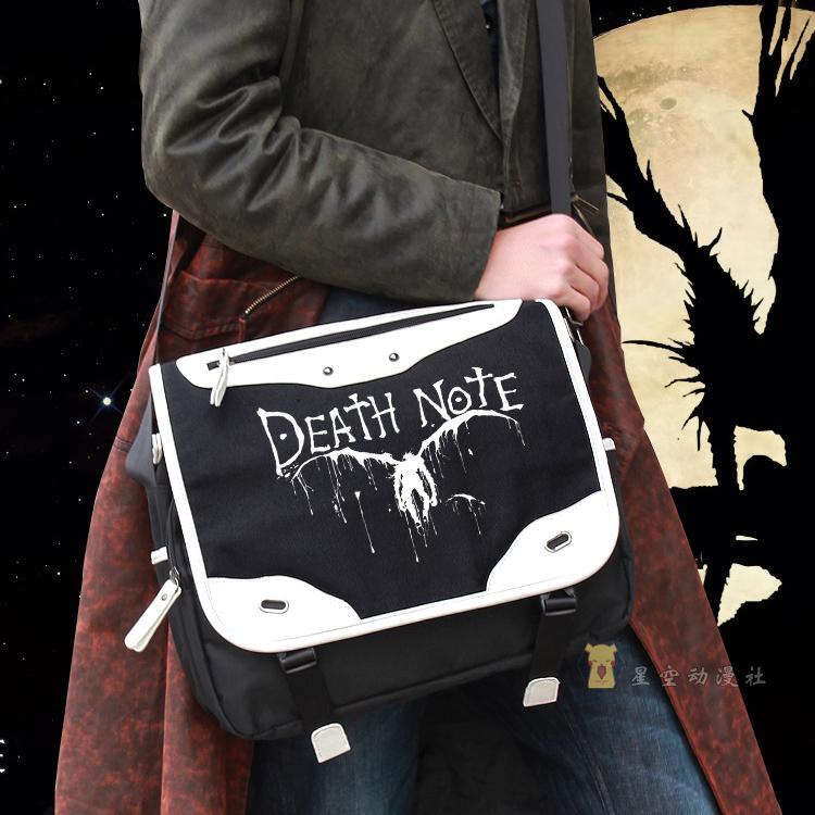New Japan cartoon Death Note Character Shoulder Bags Death Note Yagami Light Killer handbag canvas Shoulder Bag schoolbags(China (Mainland))