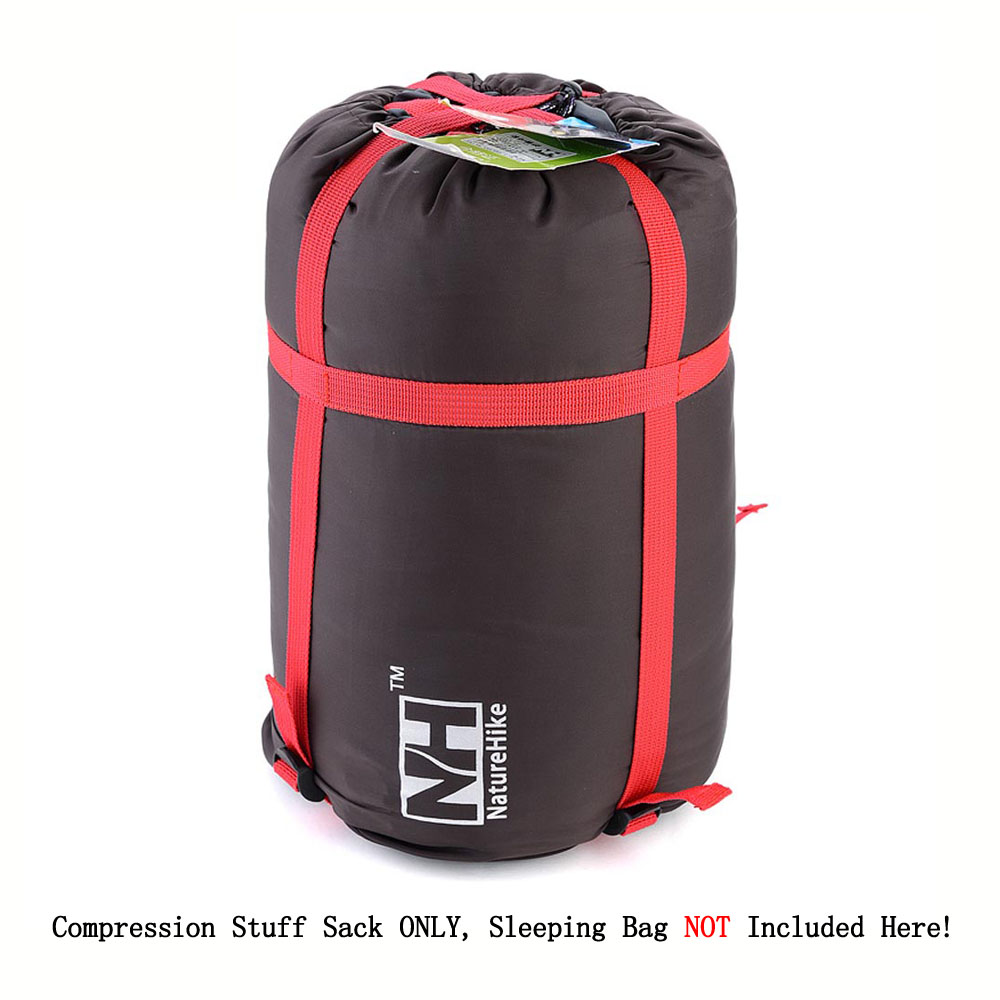 New Outdoor Lightweight Sleeping Bag Pack Compression Stuff Sack Storage Carry Bag For Camping Hiking Mountaineering(China (Mainland))