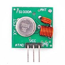 Free Shipping 1 pair 433Mhz/315MHz RF transmitter and receiver Module link kit for /ARM/MCU WL diy electronic kit