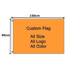 Custom Flag 90 x 150 cm 100D Polyester Customize Flags And Banners For Home Decoration / Holiday / Advertising / Fair /(China (Mainland))