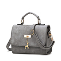 Cheap Crossbody Bag Succinct Square Bag Women All match PU Shoulder Bag Cute Metallic Animal Ornament