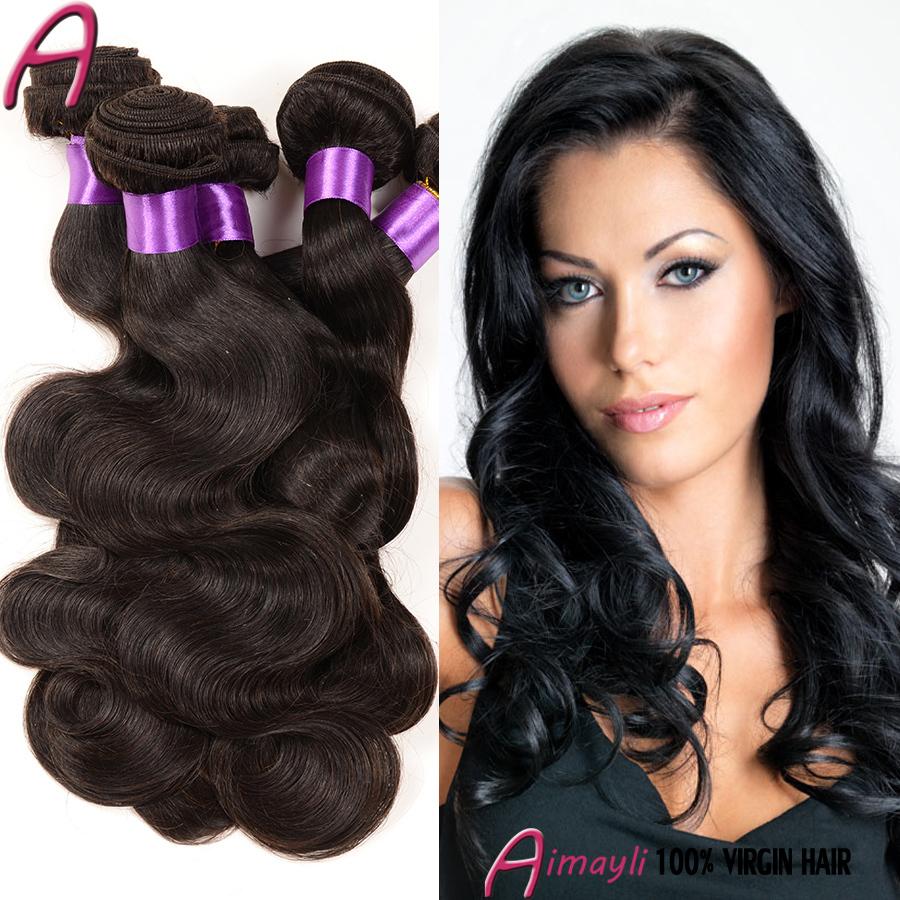 7a Grade Brazilian Virgin Hair Body Wave 4 Bundles Brazilian Body Wave Unprocessed Hair Bundles 100g Aliexpress Hair Extensions
