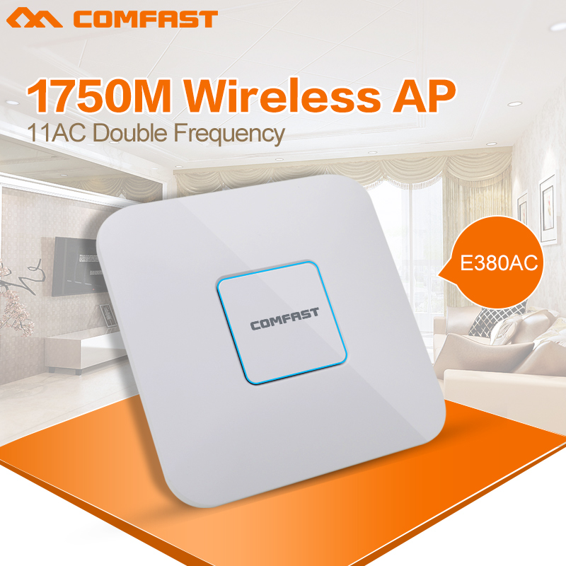 Comfast Wireless Access Point poe 11 AC gigabit Router Inoor Dual Band AC WiFi 2.4/5GHz 802.11 AC MI Router Wifi Router openwrt(China (Mainland))
