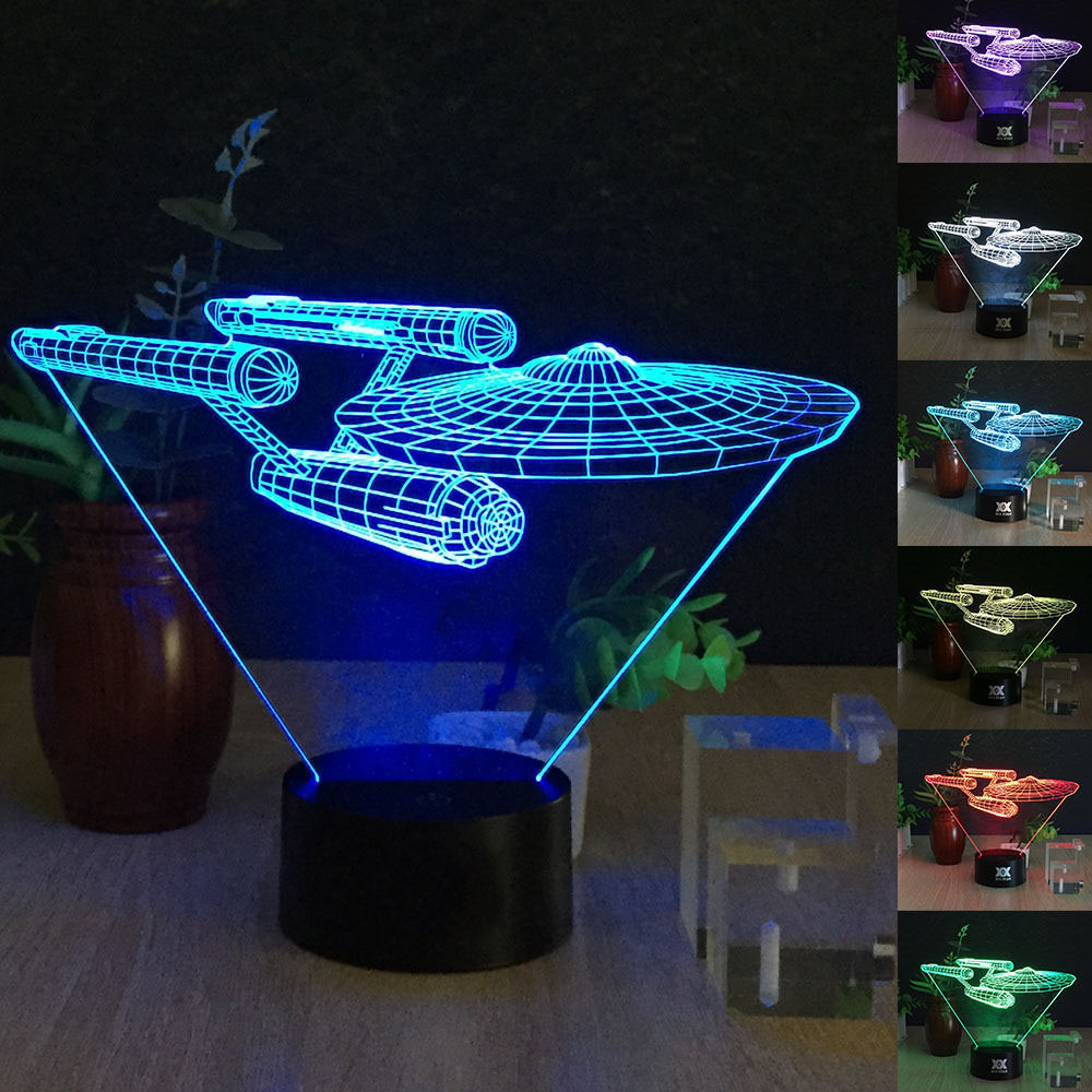 Desk Lamp 3d Star Wars 7 Colors Change Touch Switch Table LED Light Night Lighting Home Decoration Household Accessories(China (Mainland))