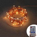 Remote Control 20M 200 LED 12V String Light Christmas Wedding Party Festival Decoration Lights Waterproof Holiday