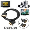 1M 1 8M 3M 5M Digital Monitor DVI D to DVI D Gold Male 24 1