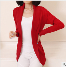 Red Cardigan Sweater Womens
