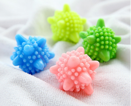 Magic laundry ball decontamination anti-winding washing machine care starfish solid ball clean ball(China (Mainland))