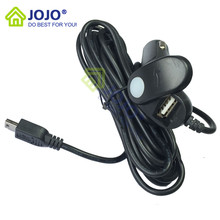JOJO house Original Mini USB interface Car Charger without magnet ring Compatible with G1w/G1w-C/G1WH/GT680W/dash camera car DVR(China (Mainland))