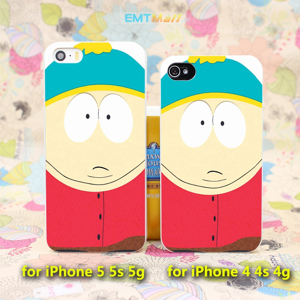 South Park Cartman Quote Funny Joke Cartoon Style Case Cover for iPhone 4 4s 4g 5 5s 5g Hard White Back(China (Mainland))