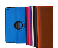 """2 in 1 stylus pen Rotary 360 Degree Rotating Jeans cow boy Leather Case for Apple ipad 6 iPad Air 2 cover 9.7"""" Tab Free Ship(China (Mainland))"""