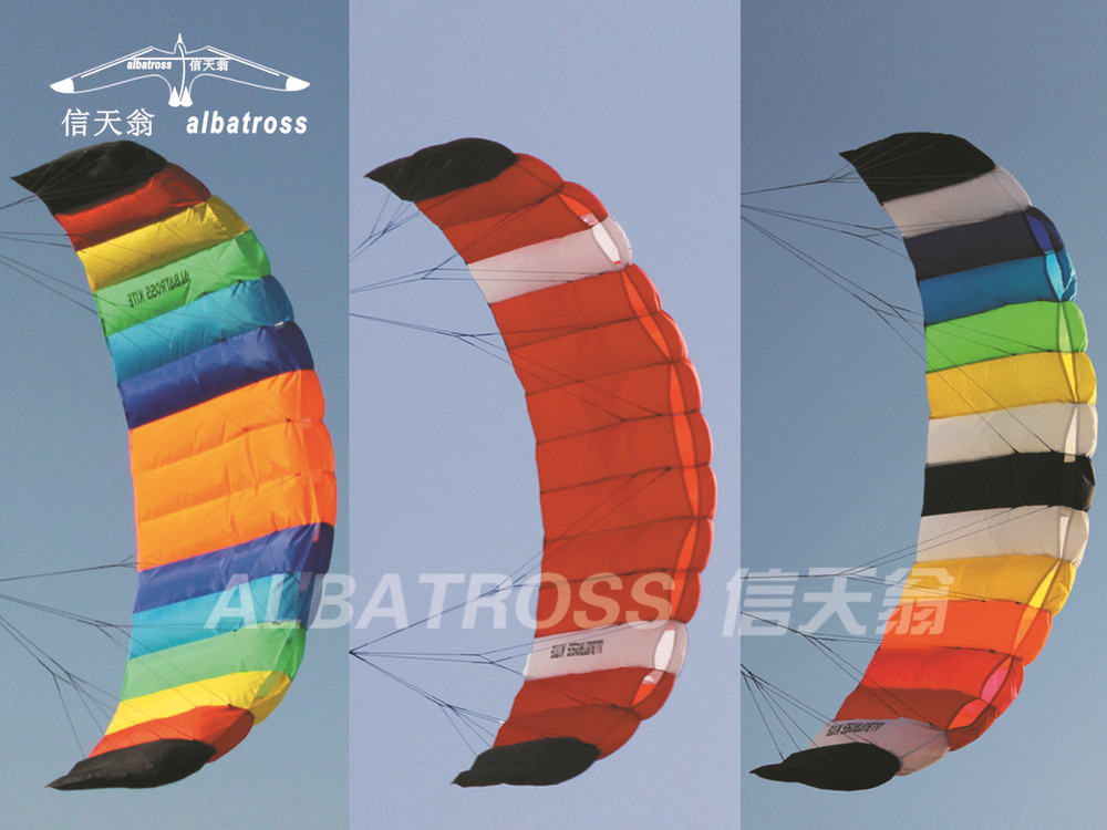 2013 NEW CHINESE 2.6M POWER KITE DUAL LINES TRAINER SURFING/SURF KITE/WHOLESALE PRICE/HOT SALE(China (Mainland))