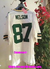 Canuven American Football Jersey Jordy #87 Nelson Custom Throwback College Cheap Authentic Sports Jerseys Mens Womens Youth 2017(China (Mainland))