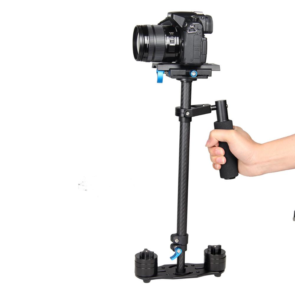 ถูก S teadicam s60Tมือถือโคลงกล้องปรับปรุงรุ่น. steadycamมั่นคงDSLR estabilizadorกล้องขนาดกะทัดรัดกล้องวีดีโอ