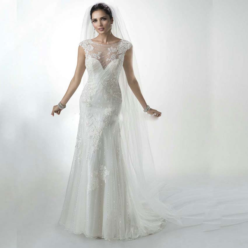 Buy w3185 louisvuigon lace wedding for Sexy high low wedding dresses