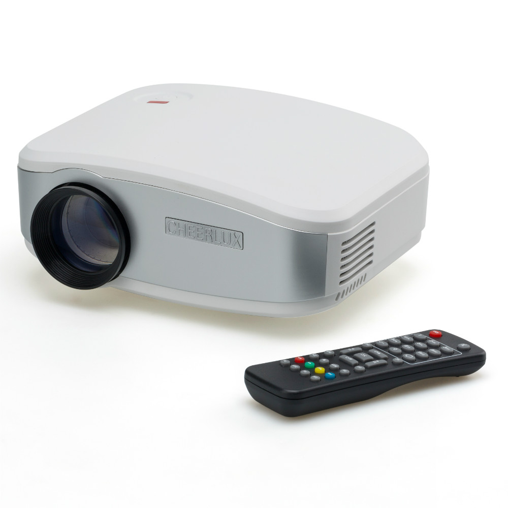 Cheerlux hd c6 lcd led mini projector proyector beamer for A small projector