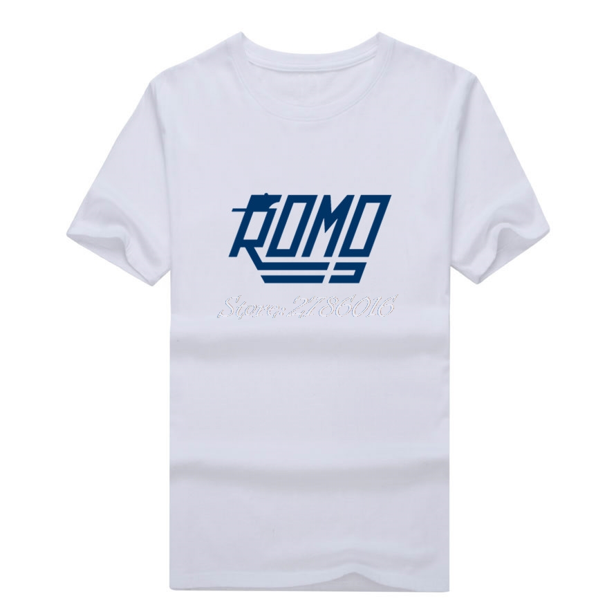 Men #9 Tony Romo usa Captain retired T-shirt Clothes Dallas T Shirt Men's for Cowboys fans gift o-neck tee W0409002(China (Mainland))