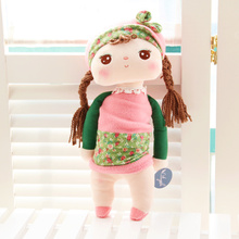 Unique Gifts high quality Sweet Cute Angela rabbit doll Metoo baby plush doll for kids panda butterfly bee poupee dolls()