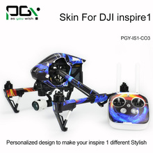 PGY Stickers for DJI Inspire 1 Decal Accessories RC drone Protective 3M Skin film Cover Case Skin Wrap Sheet