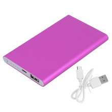 Ultrafinos 12000 mah Portátil USB Bateria Externa Carregador Power Bank portátil Bateria Externa de carregamento para o telefone poverbank Banco(China)