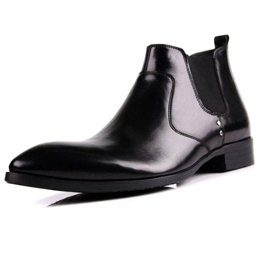 EU38-44 2015 New mens shoes Taojian high shoes men high formal leather commercial leather pointed toe shoes<br><br>Aliexpress