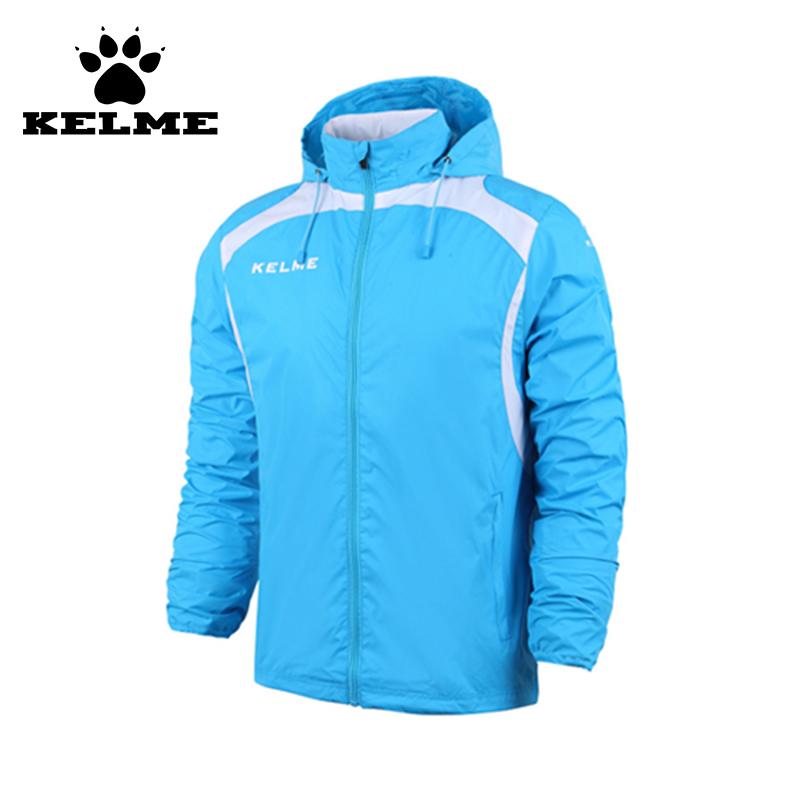 KELME 2016 Kids Football Training Suit Soccer Jersey Leisure Jacket Raincoat Windproof Waterproof Boys Survetement Football 69(China (Mainland))