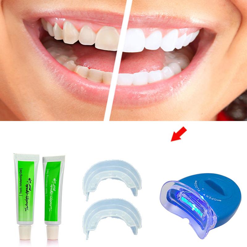 История отбеливания зубов