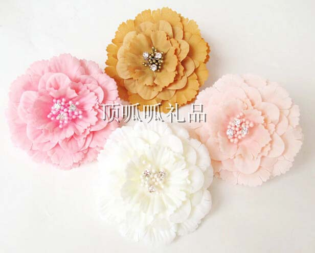 Free shipping Artificial Silk Camellia 8cm pink cream champagne dark yellow Flower Heads wedding decorations decoracao 50pcs/lot(China (Mainland))