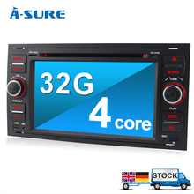 A-Sure Android 5.1.1 Quad DVD Sat Nav GPS for Ford Focus Transit Galaxy S-Max C-Max (K9FF3)(China (Mainland))