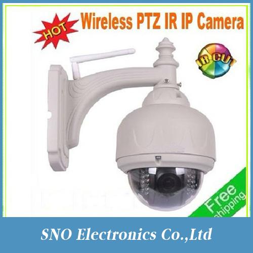 New onvif 2013 New & H264 720p Hot Wifi PTZ IR waterproof outdoor/indoor Mini speed Dome IP Camera