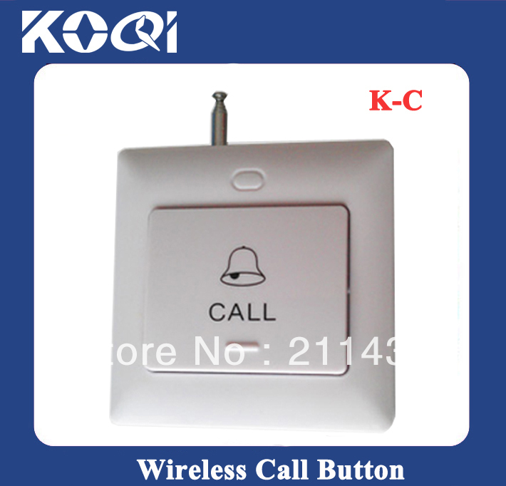 Call Button System wireless K-C install on the wall(China (Mainland))