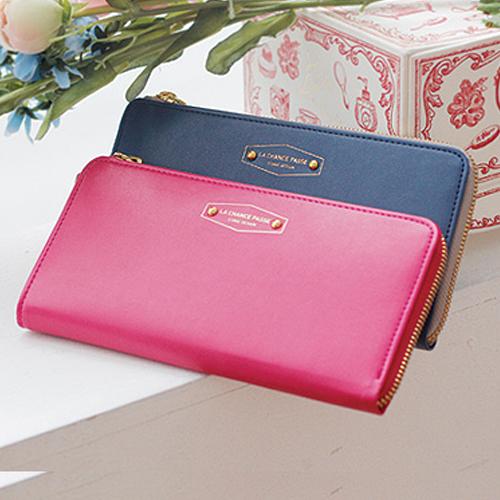 Women Coin Card Phone Clutch Purse Faux Leather Zip Long Handbag Chic Wallet Hot 2015 <br><br>Aliexpress