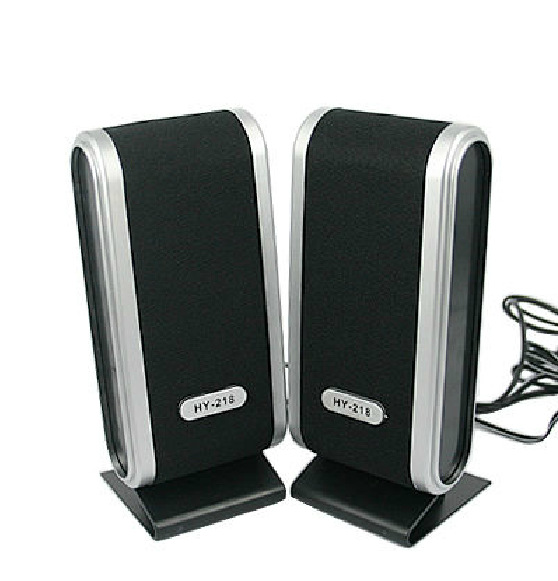 Wholesale mini speakers hifi 2.0 stereo loudspeaker speakers manufacturer portable usb speaker for Laptop PC Computer(China (Mainland))