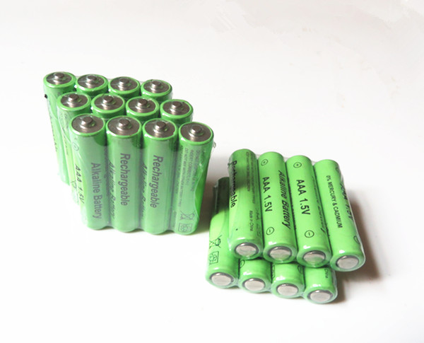 20pcs/lot New Brand AAA Battery 2100mah 1.5V Alkaline AAA rechargeable battery for Remote Control Toy light Batery free shipping(China (Mainland))