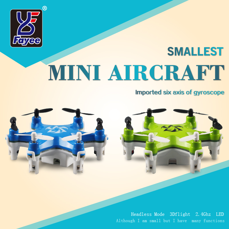 Mini Drone FY805 4CH 2.4G 360 Degree Roll Pocket Drone LED Plane Model Toys RC 6-Axis Aircraft(China (Mainland))