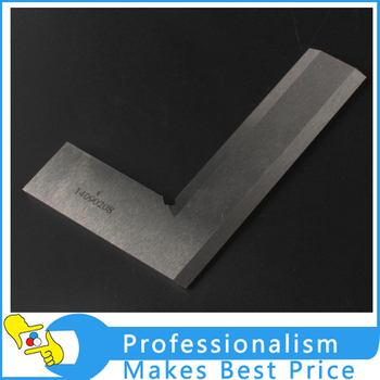 100x63mm 90degree precision angle ruler, knife edge, Grade 0, Chinese best brand for angle ruler