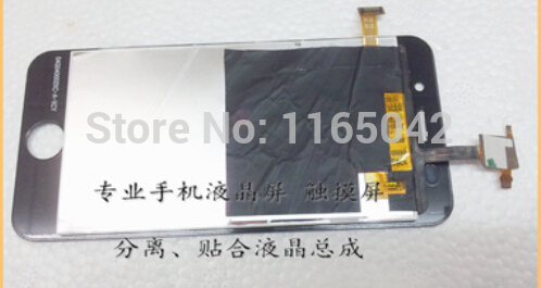 external touch screen 02F040001DT-A with LCD display Glass Panel 04G040002XC-A-XCY FOR china imitation android phone i5 5s
