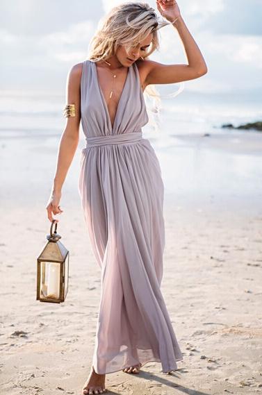 Женское платье Chiffon maxi dress desigual 2015 v/vestidos LYA1322
