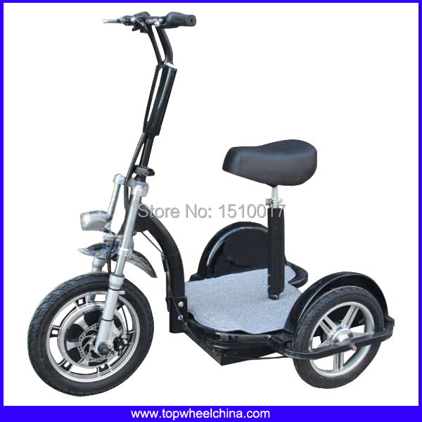 Factory Wholesale 2015 New 3 Wheel Electric Zappy Scooter