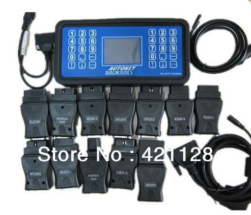MVP Key Decoder V9.7 MVP Car Key Programmer Updated From AD100 DHL Free Shipping(China (Mainland))