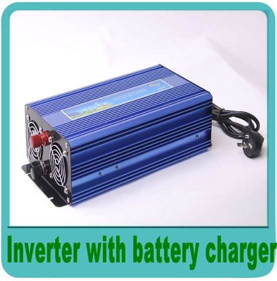4000W Watts Peak Real 2000W 2000 Watts Power Inverter 12V DC to 220V AC Pure Sine Wave With battery charge function(China (Mainland))