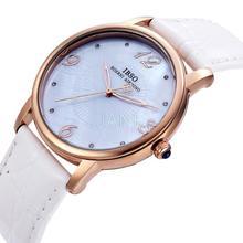 Ibso genuino hombre realmente cinturón parejas reloj de cuarzo hombre de negocios reloj impermeable reloj estudiante tabla 0650