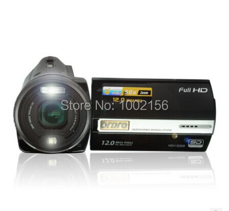 3 full hd 1080p 12mp digital video camcorder camera