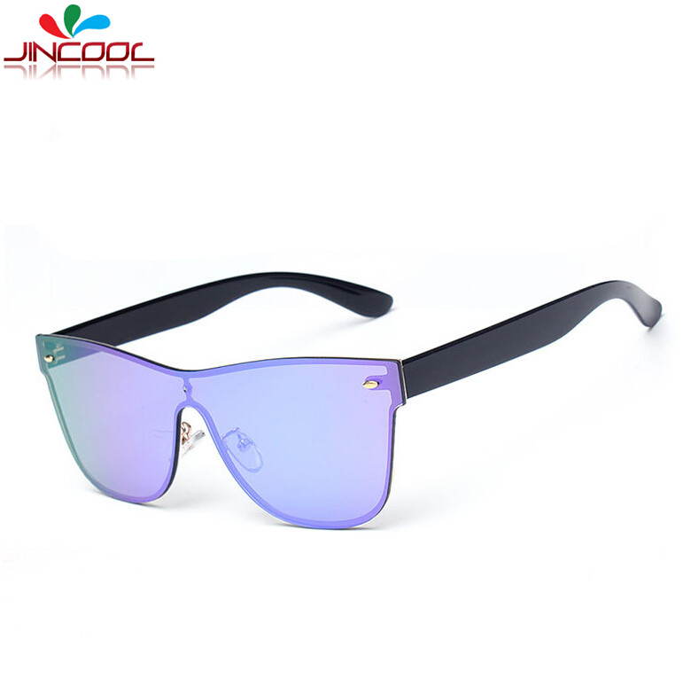 Rimless Glasses Trend : JinCool Fashion Rimless Sunglasses for Men 2016 Italy ...