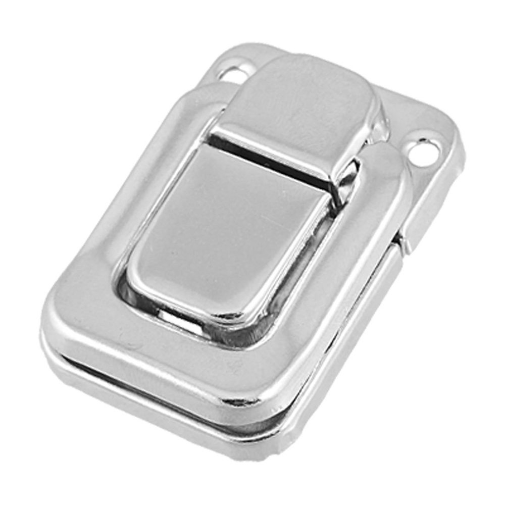 Гаджет  EDFY Silver Tone Metal Spring Loaded Cases Boxes Chest Toggle Catch Latch None Мебель